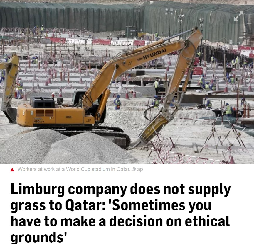 AD - FIFAs gressprodusent boikotter Qatar