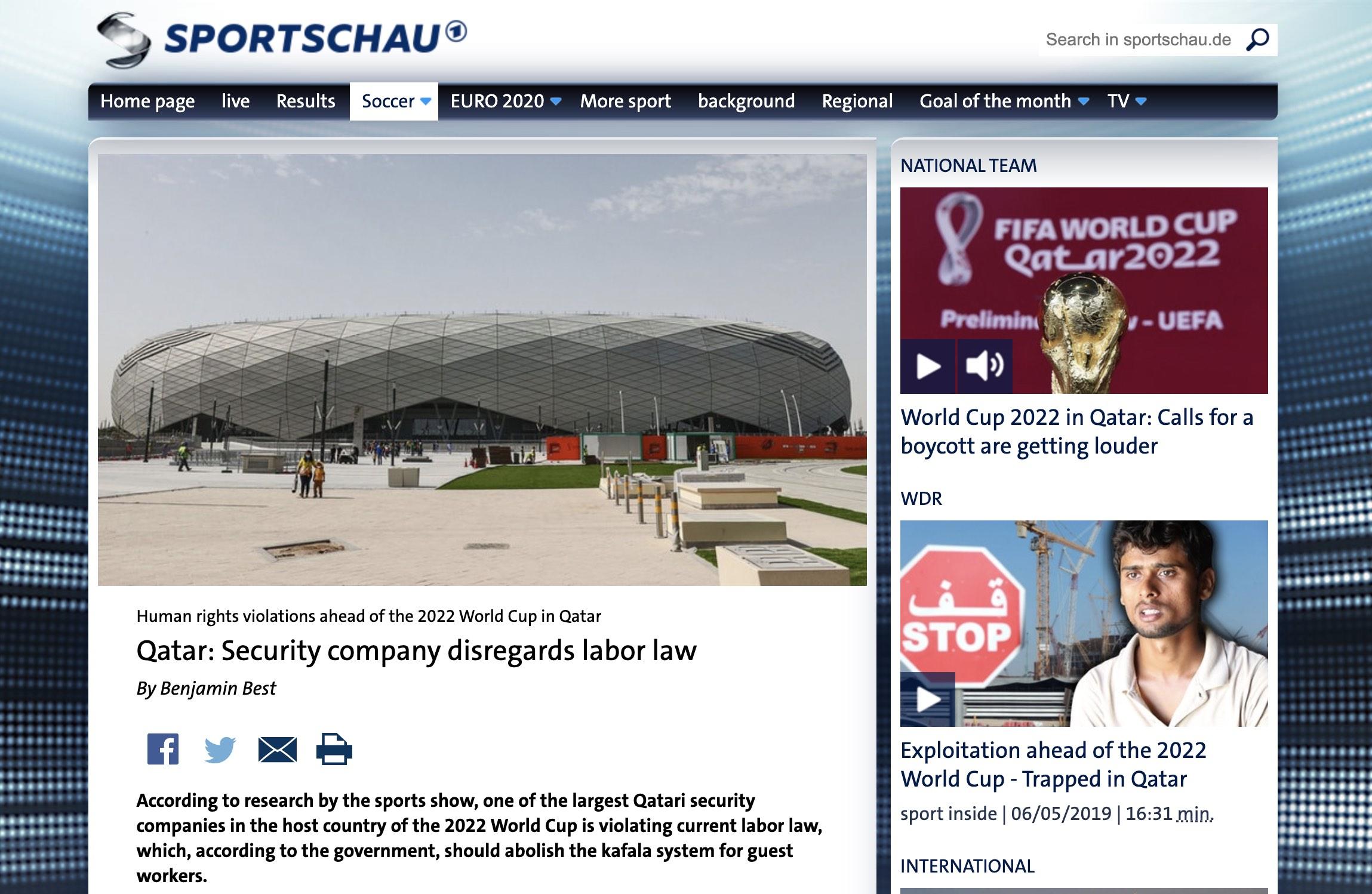 Selskap i Qatar omgår nye lover
