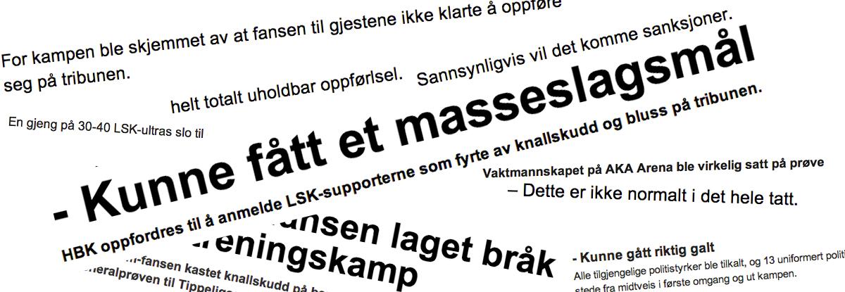 Hva skjedde egentlig i Hønefoss?