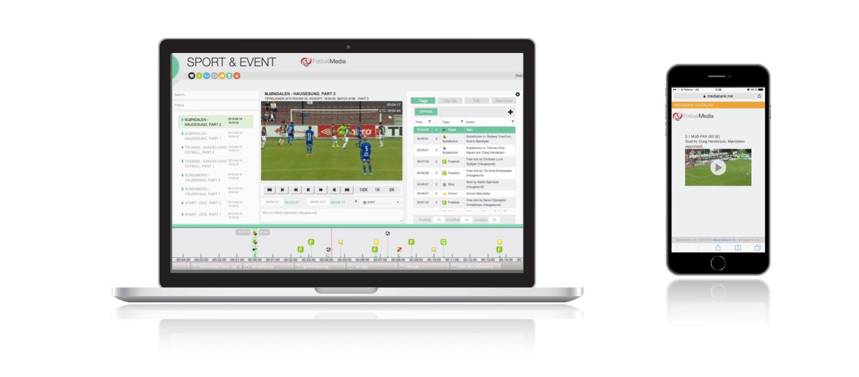 Norsk fotball åpner videoarkivet for supporterne