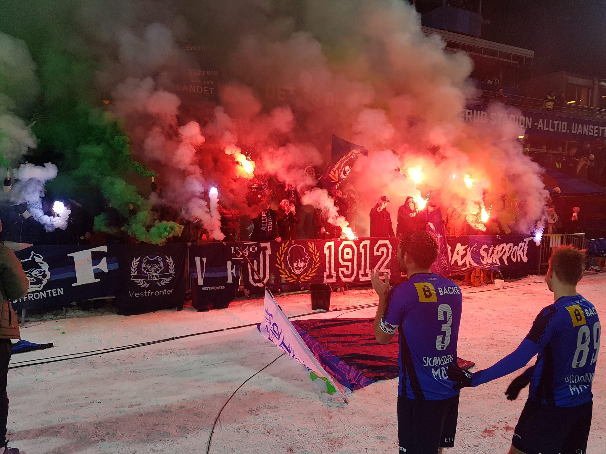 NFF og UEFA-rapport brukte bilder av sprengningsskader, Athen-derby og rørbomber for å skremme klubbene